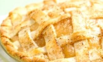 Заливний пиріг з яблуками - неповторний смак, неповторний аромат