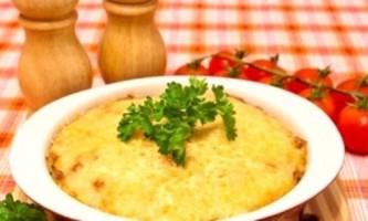 Запіканка з картопляного пюре - швидко, просто, смачно
