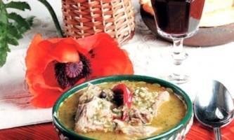 Знаменитий суп харчо!